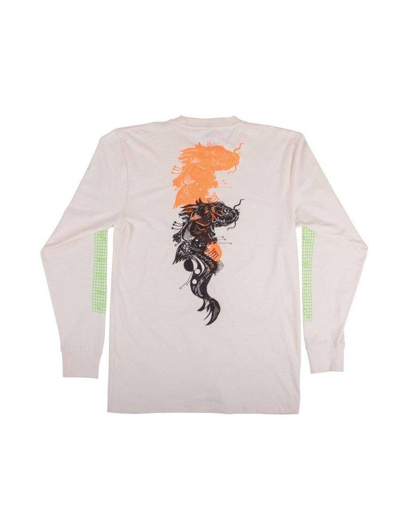 Welcome Welcome Koi Boi Longsleeve T-shirt - Bone