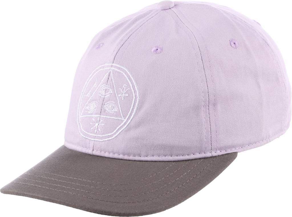 Welcome Welcome Basic Witch Unstructured Slider Hat - Lavender/Charcoal