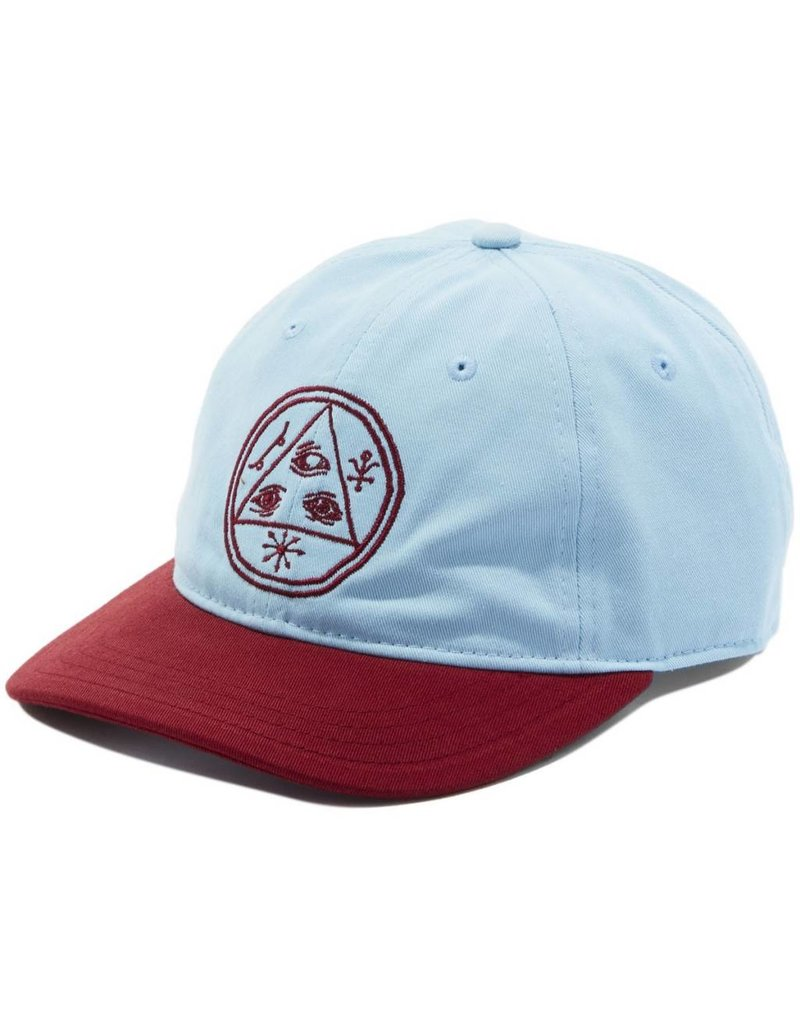 Welcome Welcome Basic Witch Unstructured Slider Hat - Blue/Red