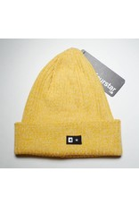 Fourstar Fourstar Fold Beanie - Yellow Heather