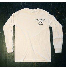 FA skates FA skates 85 Longsleeve T-shirt - White
