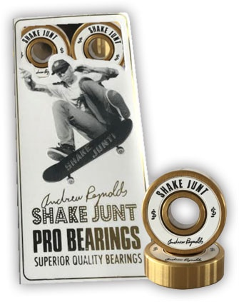 Shake Junt Shake Junt Andrew Reynolds Pro Bearings (set of 8)