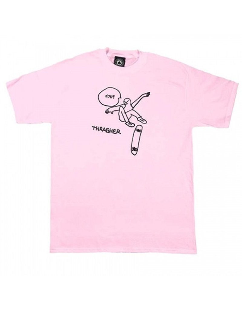 Thrasher Mag Thrasher KCUF T-shirt - Pink