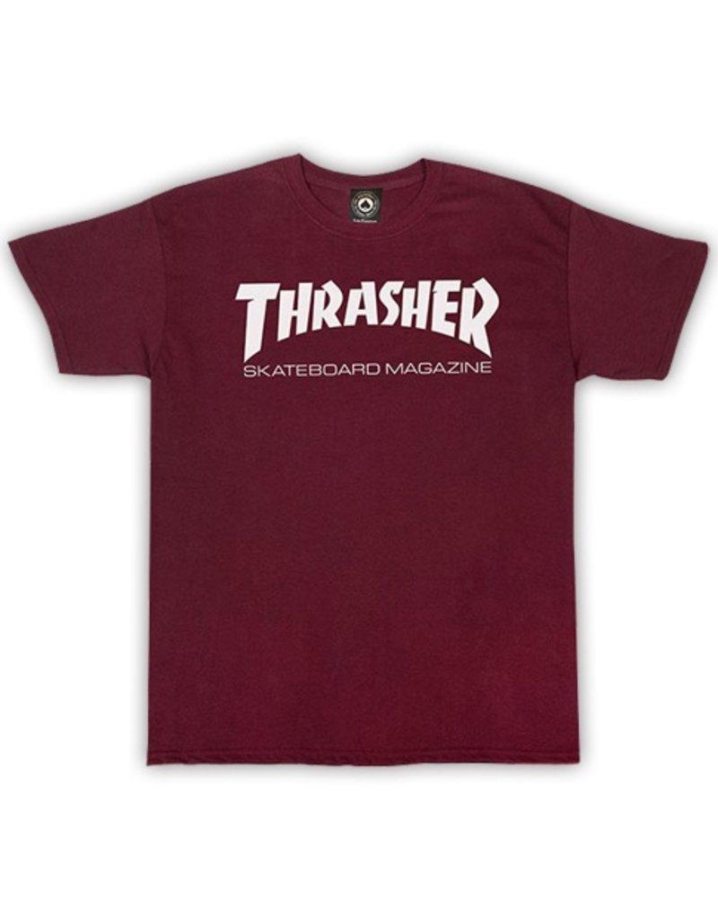 Thrasher Mag Thrasher Skate Mag T-shirt - Maroon