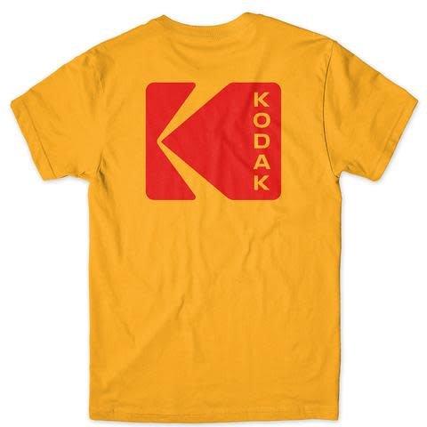 Girl Girl Kodak Exposure T-shirt - Gold (size Small)