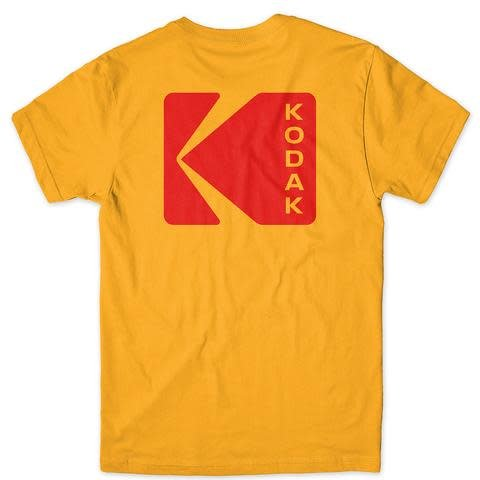 Girl Girl Kodak Exposure T-shirt - Gold