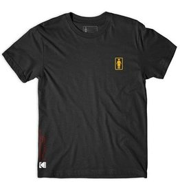 Girl Girl Kodak Super 8 T-shirt - Black (size X-Large)