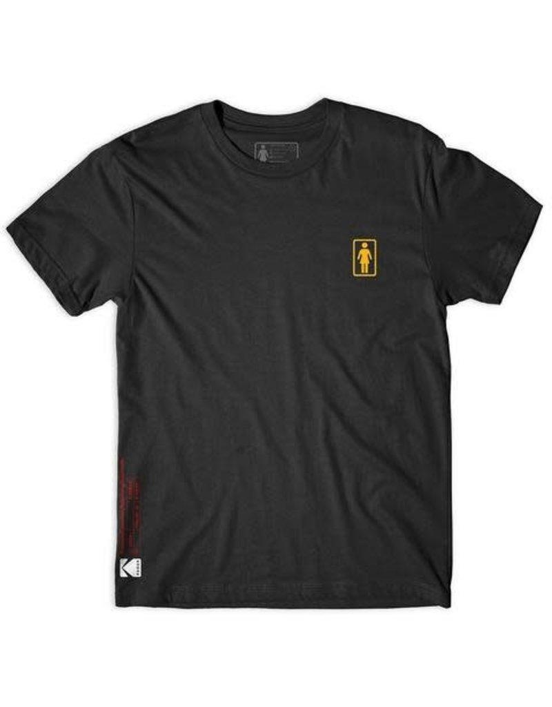 Girl Girl Kodak Super 8 T-shirt - Black