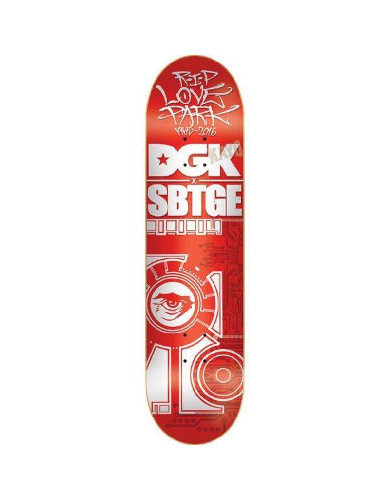 DGK Dgk x Sabotage R.I.P Deck - 7.56