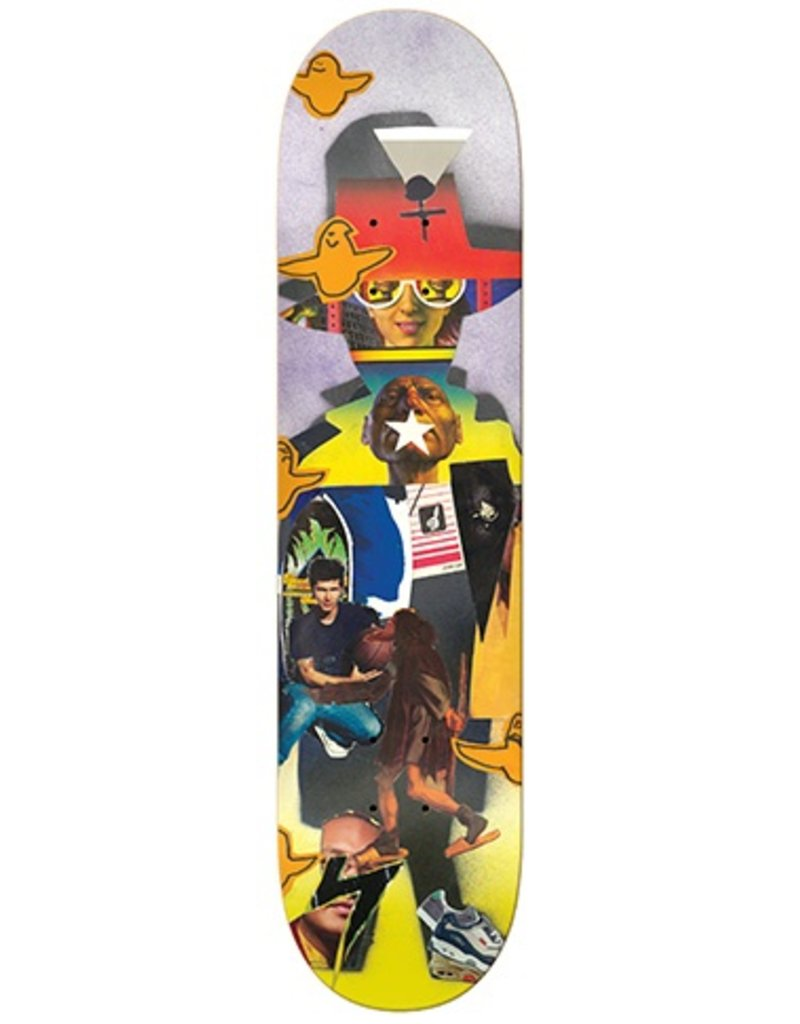 Krooked Krooked Cromer Collage Deck - 8.25