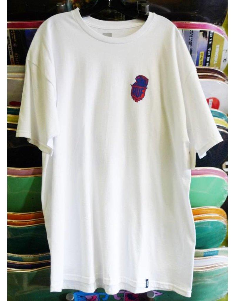 Huf Worldwide Huf Chief T-shirt - White (X-Large)