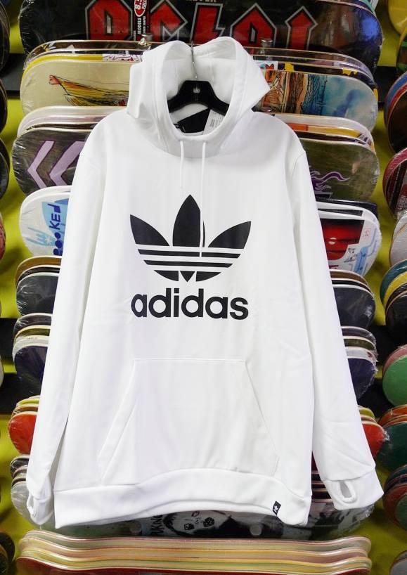 Adidas Adidas Team Tech Hoodie - White/Black