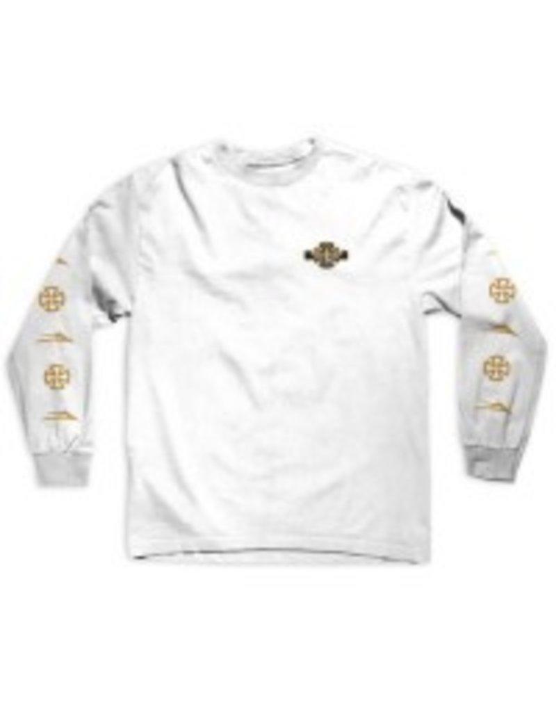 Lakai Lakai x Indy Longsleeve T-shirt - White