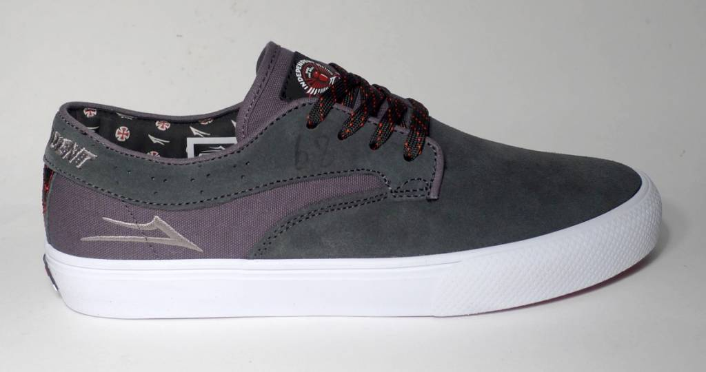 Lakai Lakai Riley Hawk x Indy Collab - Charcoal Suede