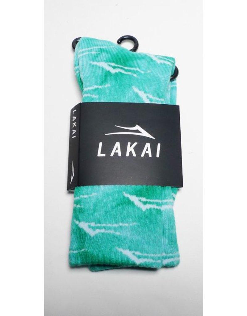 Lakai Lakai Flare Crew Sock - Blue/Green