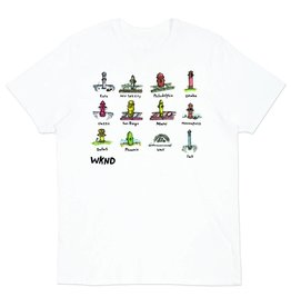 WKND brand WKND Hydrants of the World T-shirt (size Large)