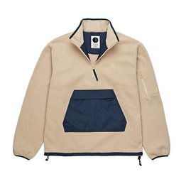 Polar Polar Gonzalez Fleece Jacket - Sand/Navy