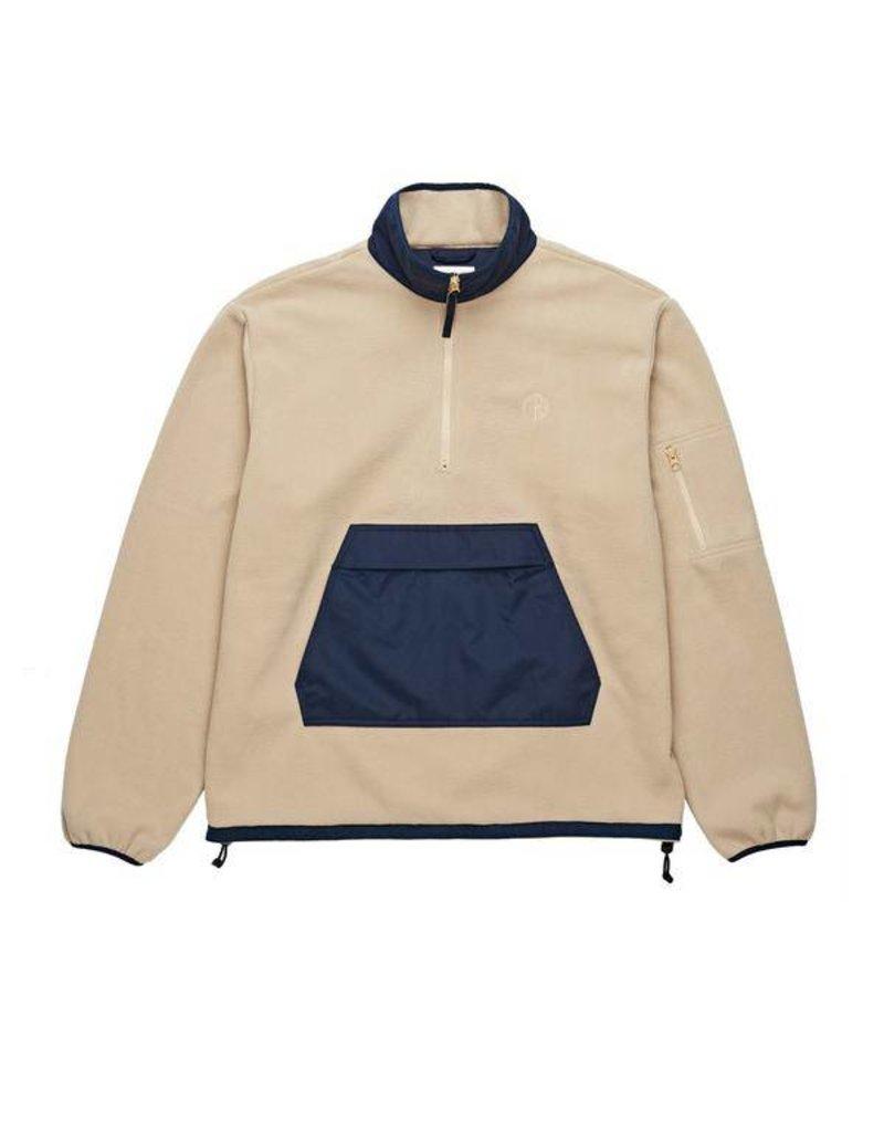 Polar Polar Gonzalez Fleece Jacket - Sand/Navy