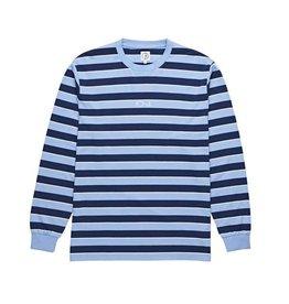 Polar Polar Striped Longsleeve - Powder Blue/Navy