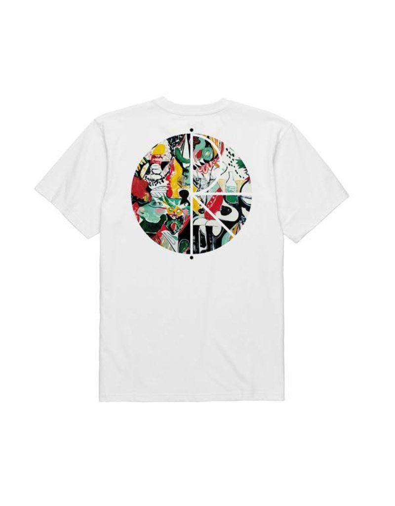 Polar Polar Ego Loss Fill Logo T-shirt - White