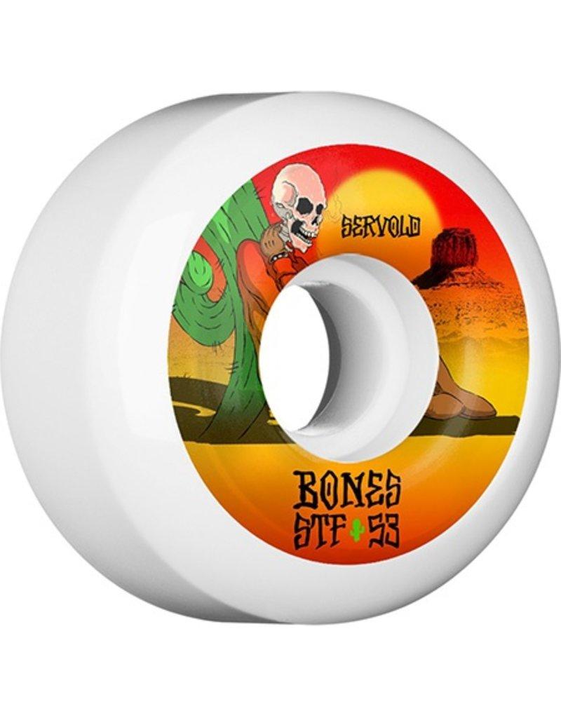 Bones Wheels Bones STF v5 Servold Dry Heat 53mm Wheels (set of 4)