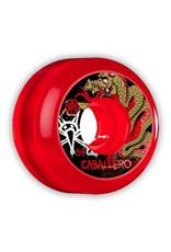 Bones Wheels Bones SPF Caballero Dragon Clear Red 54mm wheels (set of 4)