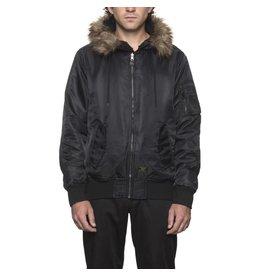 Huf Worldwide Huf N2B (reversible) Jacket - Black