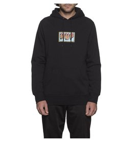 Huf Worldwide Huf Mar Vista Pullover Hoodie - Black