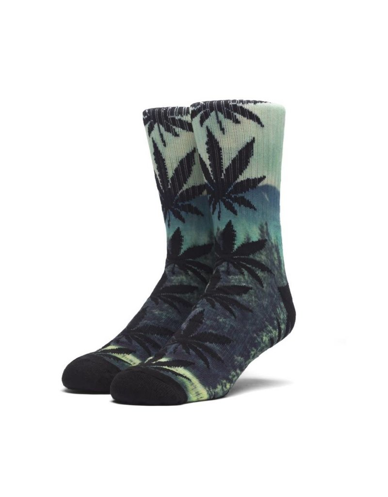 Huf Worldwide Huf Digital Plantlife Crew Sock - Evergreen