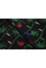 Huf Worldwide Huf It's Lit Glow in the Dark Crew Sock - Black