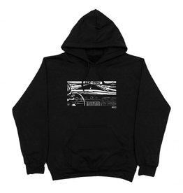WKND brand Wknd Girl In The Car Hoodie  - Black
