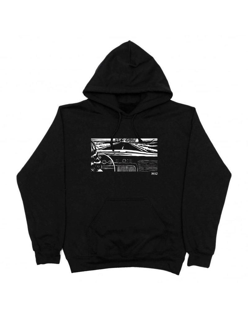 WKND brand Wknd Girl In The Car Hoodie  - Black