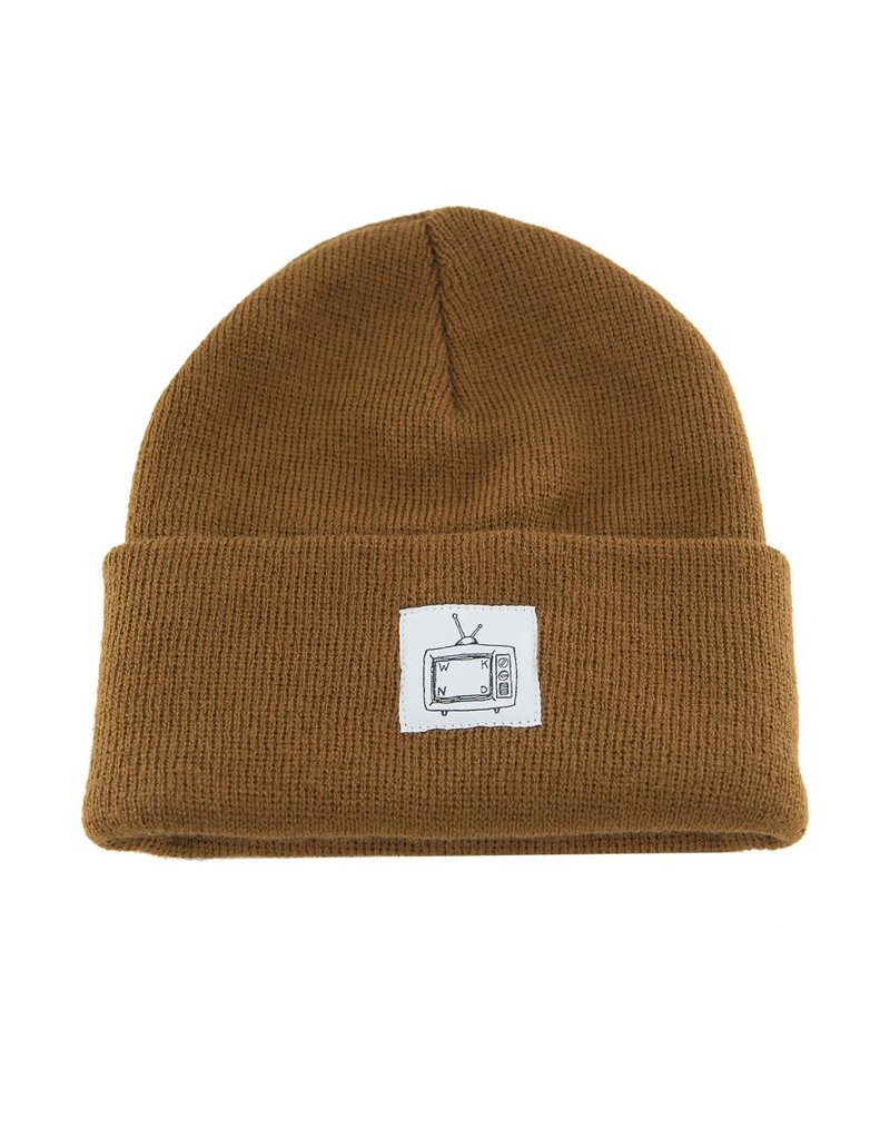 WKND brand WKND TV Cuff beanie - Copper