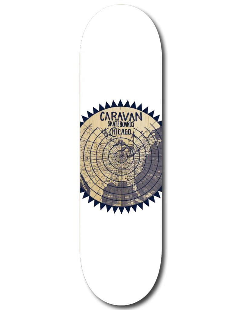 Caravan Caravan Chicago Bullseye Deck - 8.0