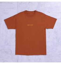 Quasi Quasi Logos T-shirt - Texas Orange  (Size Medium)