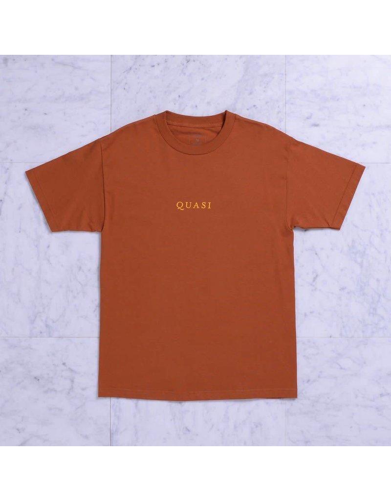 Quasi Quasi Logos T-shirt - Texas Orange