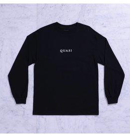Quasi Quasi Logos LongsleeveT-shirt - Black (size Small or X-Large)
