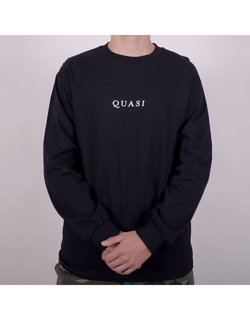 Quasi Quasi Logos LongsleeveT-shirt - Black
