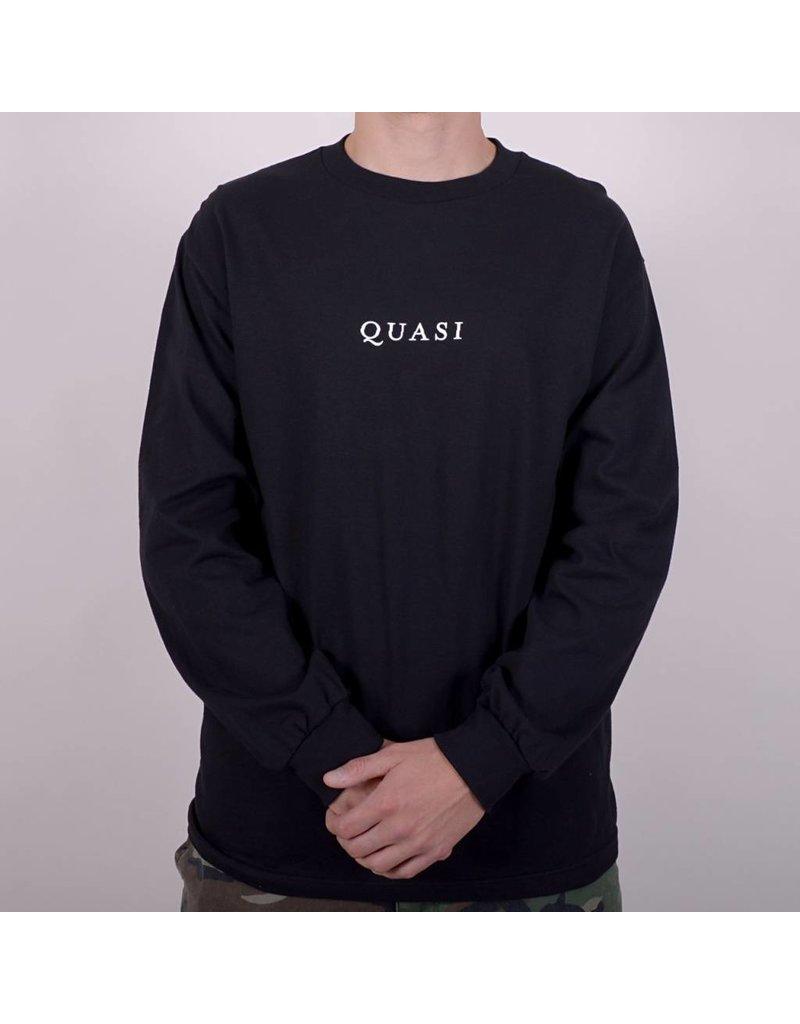 Quasi Quasi Logos T-shirt - Black