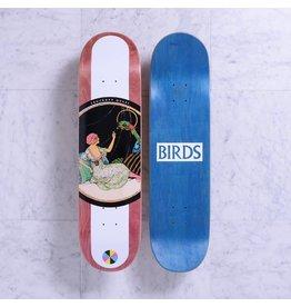 Quasi Quasi Birds Maroon Deck - 8.125 x 31.75