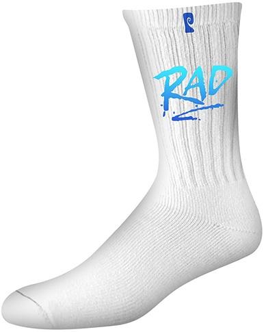 Psockadelic Psockadelic Rad White/Blue Socks