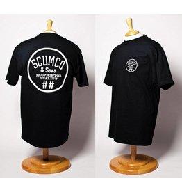 Scumco & Sons Scumco & Sons Commadore T-shirt - Black
