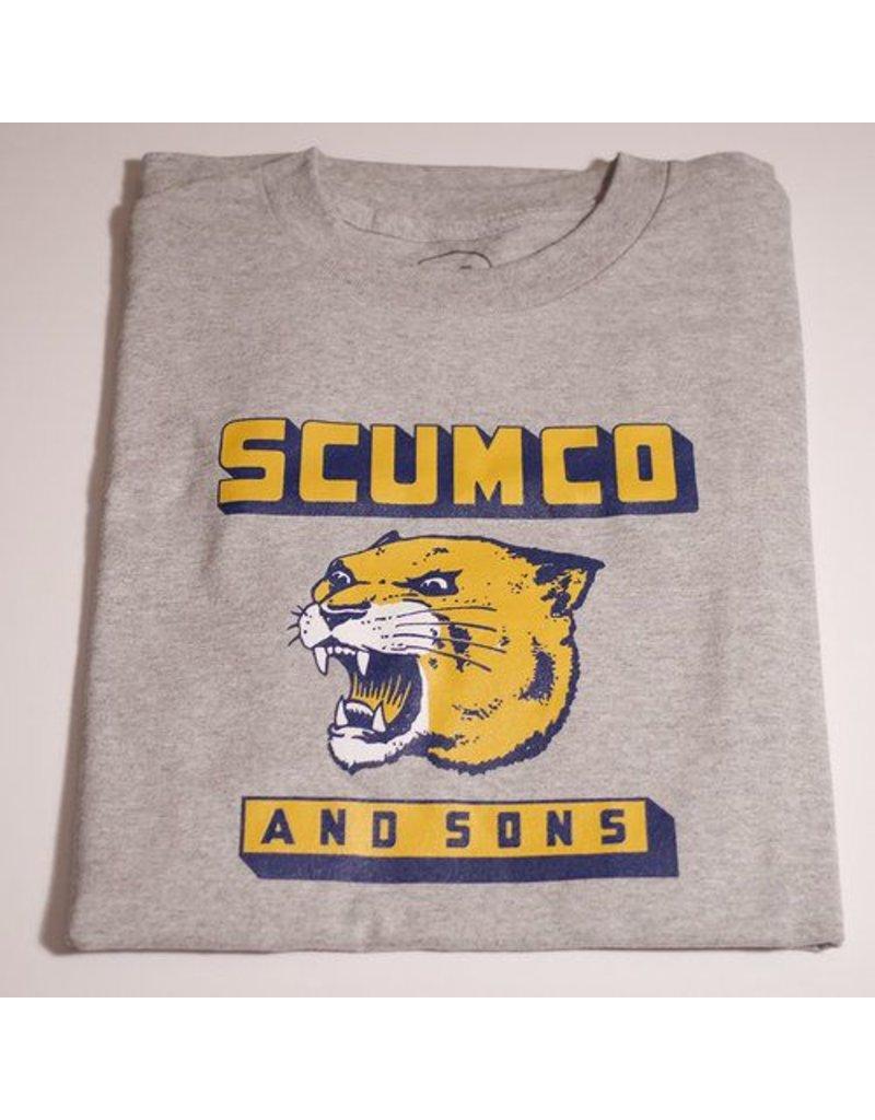 Scumco & Sons Scumco & Sons Panther Power T-shirt - Ahtletic Grey