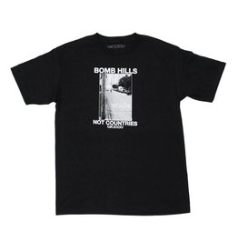 GX1000 GX1000 Bomb Hills Not Countries T-shirt - Black