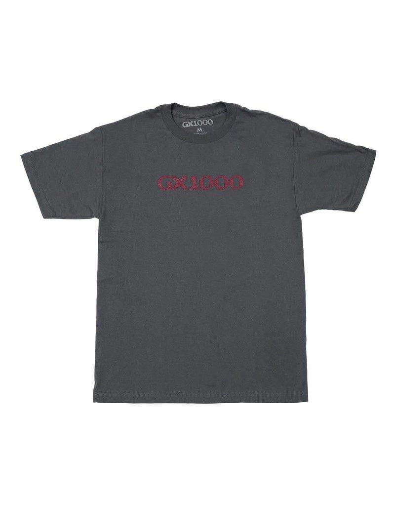 GX1000 GX1000 OG Logo T-shirt - Charcoal