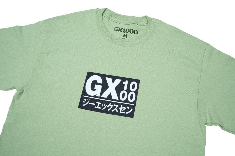 GX1000 GX1000 Japan T-shirt - Pistachio (size Small)