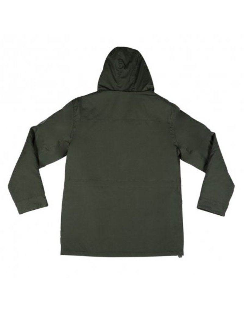 Independent Independent Maneuver Hooded Heavyweight Jacket - Dark Army Green