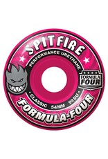 Spitfire Spitfire Formula Four Classic Pink 52mm 99d wheels (set of 4)
