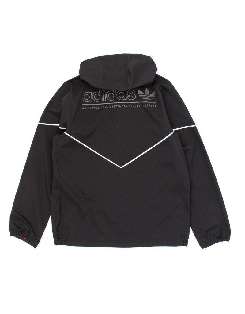 Adidas Adidas 3L Premiere Jacket - Black/Reflect