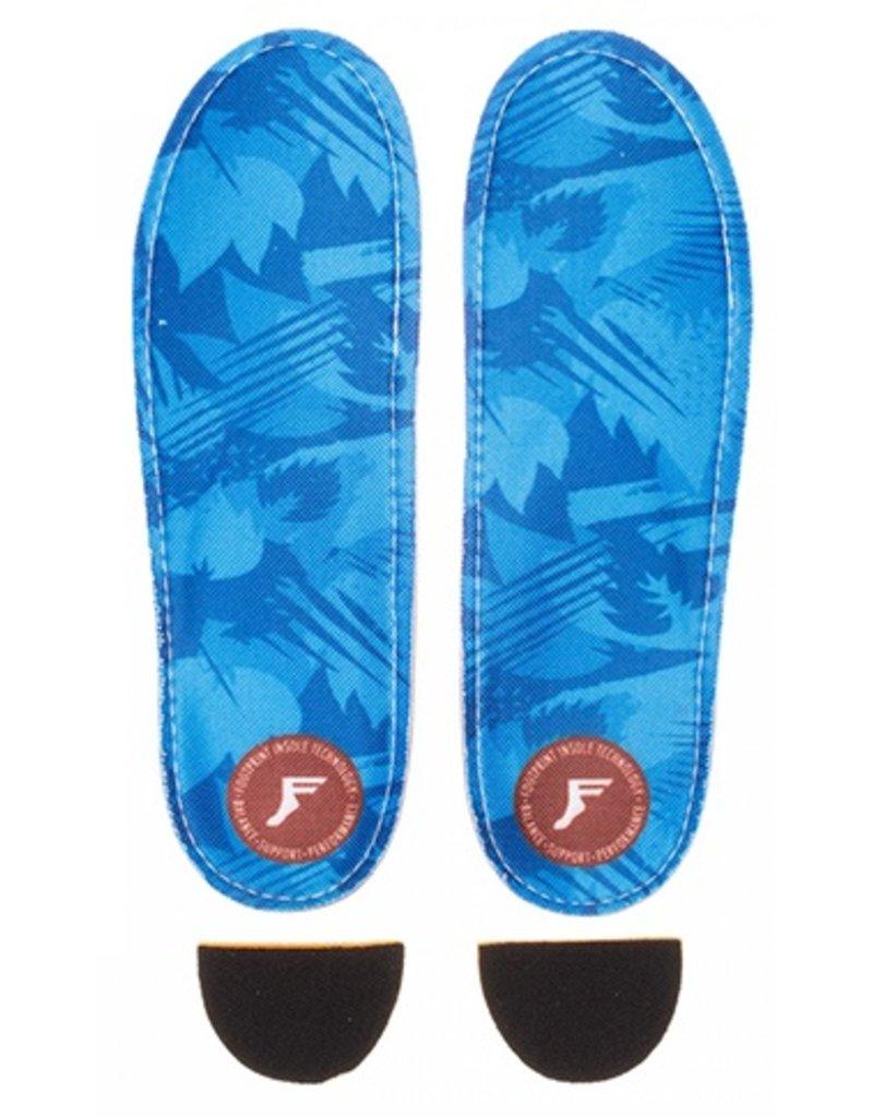 Footprint Footprint Kingfoam Orthotic Low Pro Blue Camo Insole